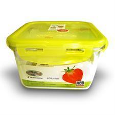 Hộp nhựa kháng khuẩn đựng thực phẩm 6886 Super lock - 1.150ml